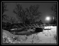 bridge in Loring Park